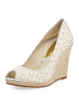 MICHAEL Michael Kors  Keegan Logo Wedge