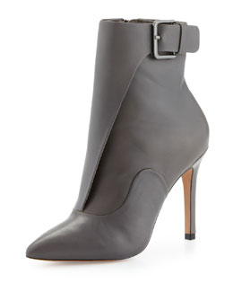 Pour la Victoire Carrigan Calf Leather Dress Bootie