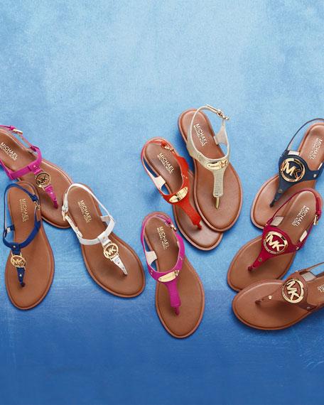 c39fe04a4d570d MICHAEL Michael Kors Sondra Logo Sandal. Sondra Logo Sandal. Sondra Logo  Sandal