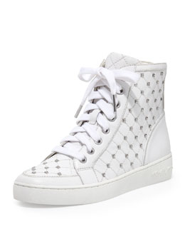 MICHAEL Michael Kors  Keaton Studded High-Top