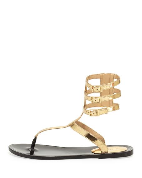 Cecille Metallic Gladiator Sandal