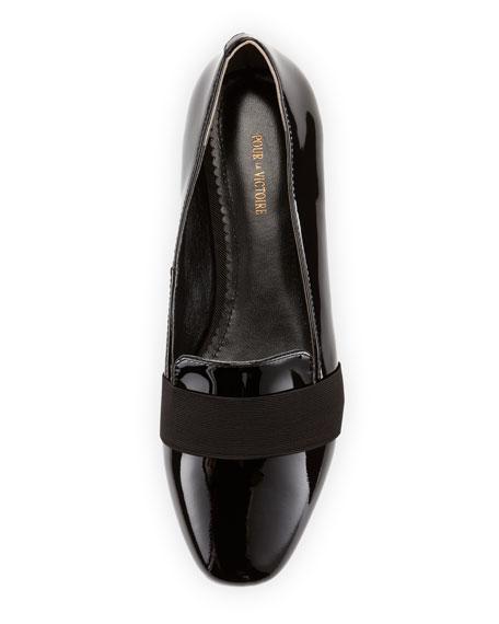 Zarine Patent Loafer, Black