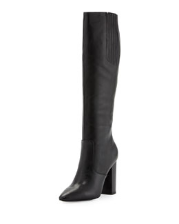Pour la Victoire Lorelle1 Tall-Shaft Boot, Black