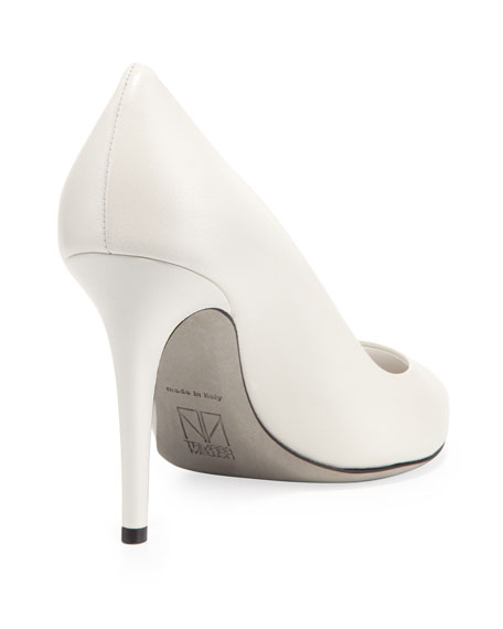 Tamara Mellon Napa Point-Toe Pump, Cream