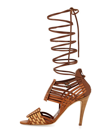 Corda Woven Strappy Sandal, Bulgaro
