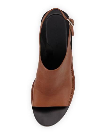 Stella Leather Slingback Sandal