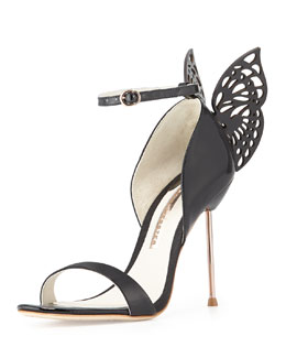 Sophia Webster Flutura Butterfly-Back Sandal