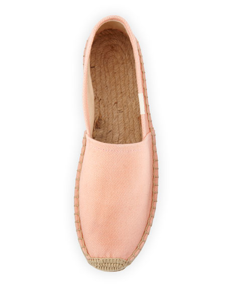Dali Original Canvas Espadrille Flat, Peach