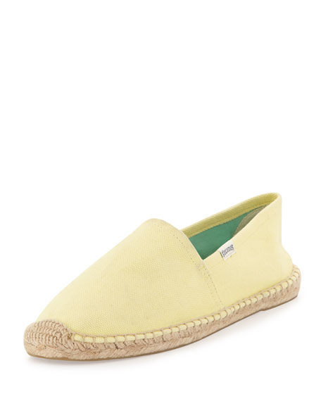 Dali Original Espadrille Canvas Flat, Lemoncello
