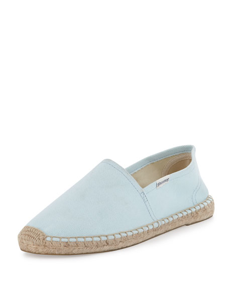 Dali Original Espadrille Canvas Flat, Baby Blue