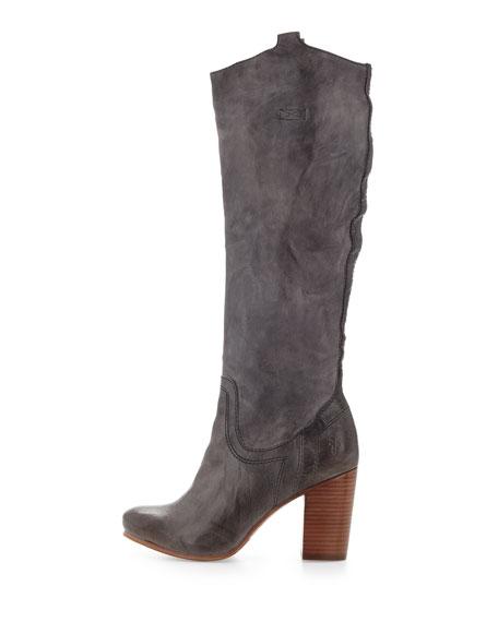 Carson Heel-Tab Boot, Slate