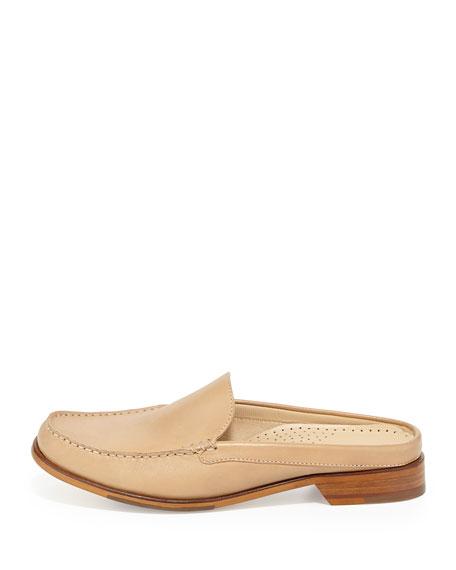 Ryann Leather Mule, Sandstone