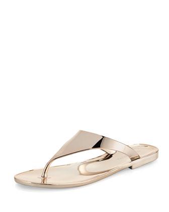 BCBGMAXAZRIA Sabba Mirrored Thong Sandal