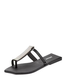 Melissa Shoes Pollen Toe-Ring Bar Jelly Sandal