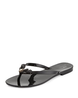 Melissa Shoes Harmonic Crystal Flip Flip