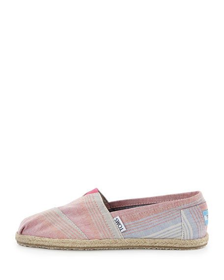 Summer Stripes Slip-On, Pink