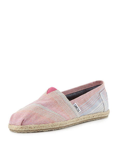 Summer Stripes Slip-On, Pink