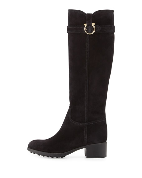 Robespierre Gancio Riding Boot, Black
