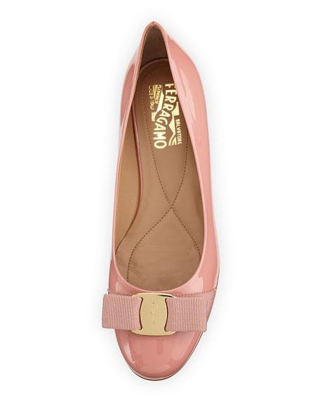 Varina Leather Ballet Flat, Blush