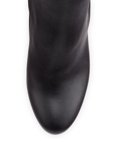 Bianca Botta Red Sole Knee Boot, Black