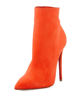 Christian Louboutin So Kate Booty Red Sole Ankle Boot, Papaye