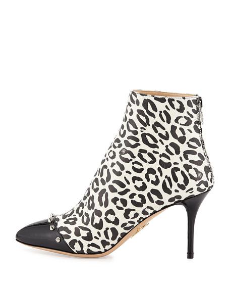 Myrtle Leopard-Print Bootie