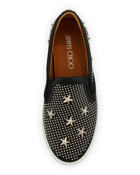 Demi Star-Studded Skater Slip-On
