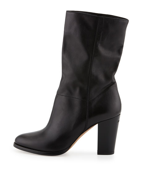 Music Stretch-Shaft Mid-Calf Boot