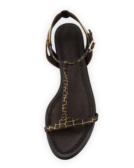 San Juan Butterfly Sandal, Black