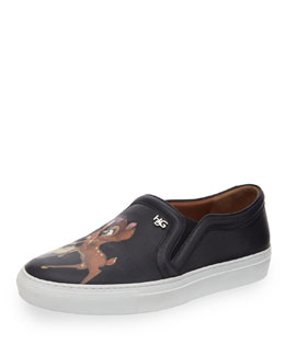 Givenchy Fawn Slip-On Skate Shoe