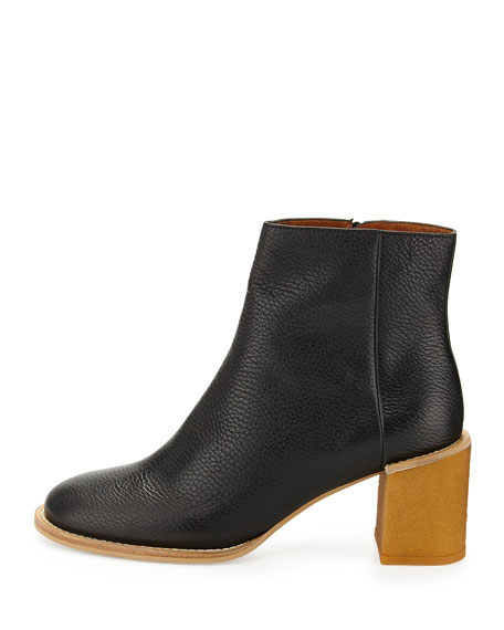 Keira Leather Ankle Boot