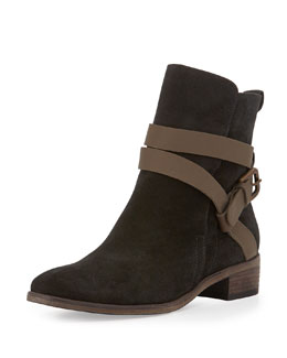 See by Chloe Janis Suede Ankle Boot
