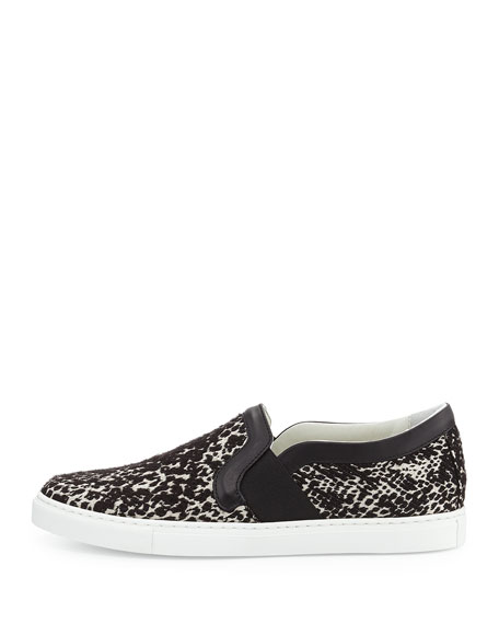 Jacquard Slip-On Sneaker, Black