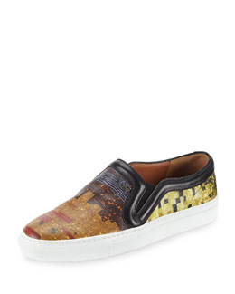 Givenchy Multi-Print Slip-On Skate Shoe