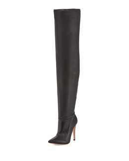 Alice + Olivia Dae Stretch Over-the-Knee Boot