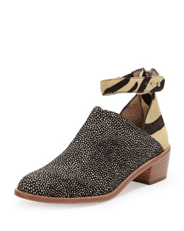 Loeffler Randall Franca Mixed Calf Hair Bootie