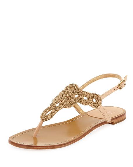 Sugarbaby Embellished Thong Sandal
