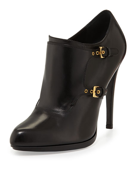 Double-Monk Ankle Bootie