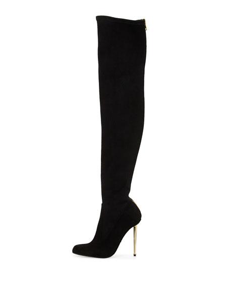 Zip-Back Over-the-Knee Boot