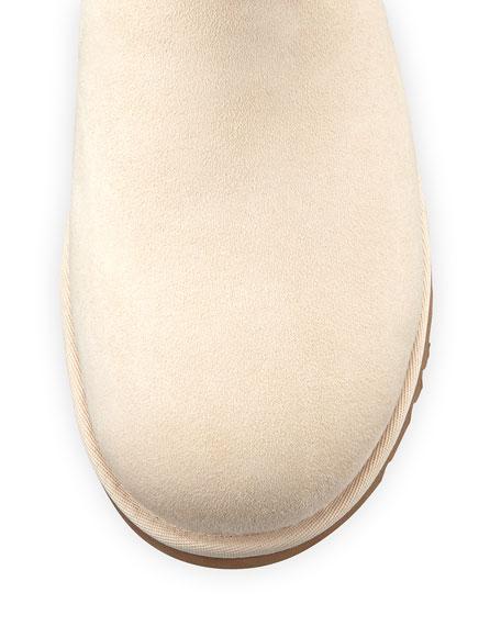 Mini Bailey Bow-Back Boot, Salt (Off White)