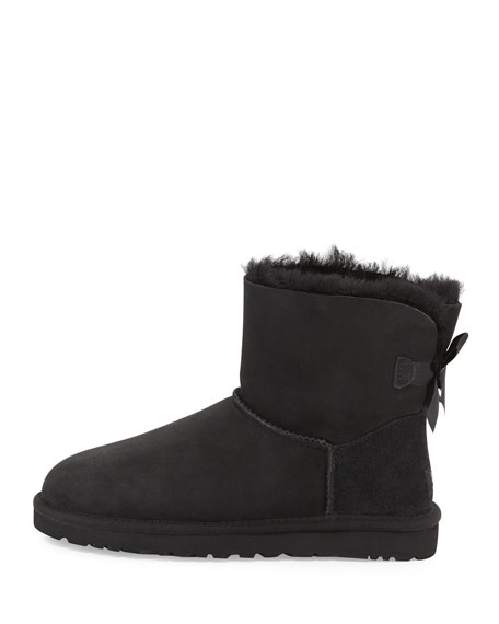 Mini Bailey Bow-Back Boot, Black