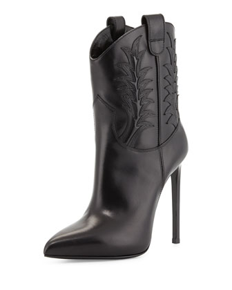 Sale alerts for Saint Laurent High-Heel Western Boot - Covvet