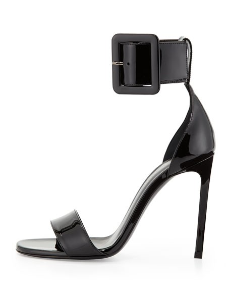 Patent Ankle-Buckle d'Orsay Sandal