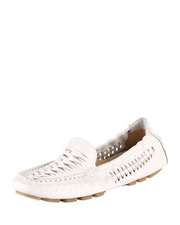 X27ZV Cole Haan Sadie Huarache Leather Loafer, Carrera