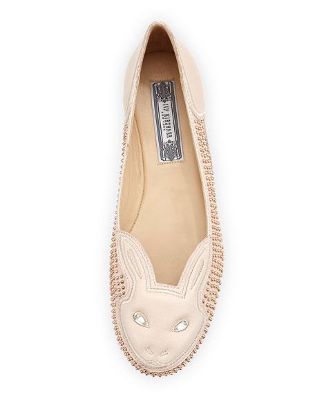 Bonkers Studded Bunny Flat