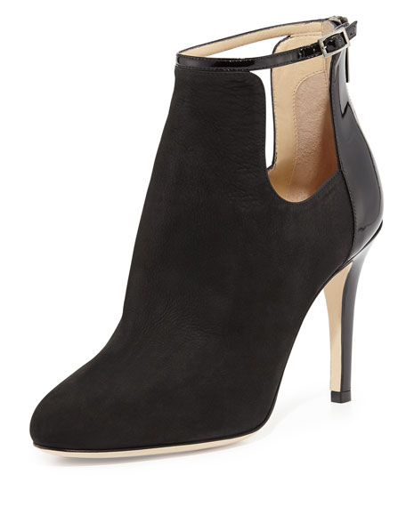 Livid Suede Ankle Boot, Black