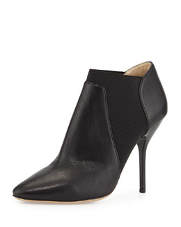 Jimmy Choo Deluxe Leather Ankle Boot, Black