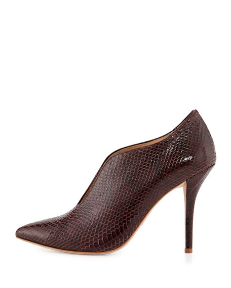 VC Signature Carolina Open-Front Snake Bootie
