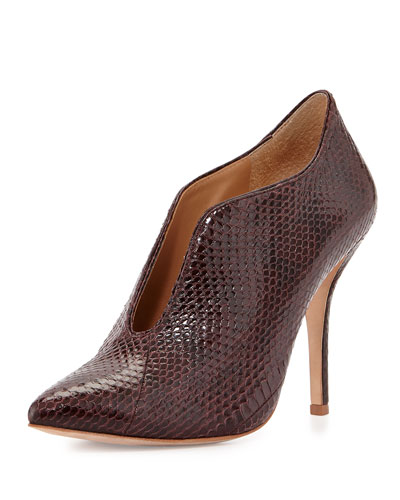 Carolina Open-Front Snake Bootie