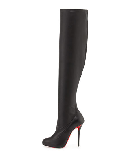 christian louboutin sempre monica over the knee boots